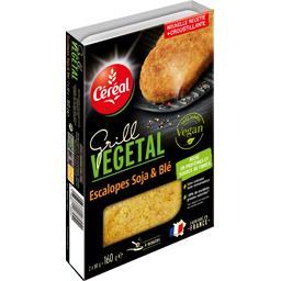 Escalopes Grill Vegetal soja & blé