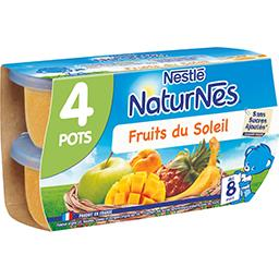 Fruits du soleil, dès 8 mois