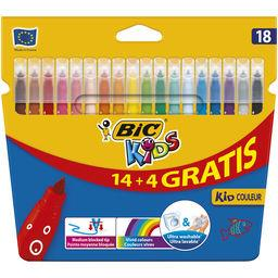 14 + 4 feutres de coloriage KID'S