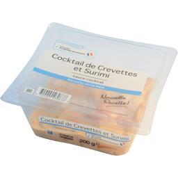 Cocktail de crevettes et surimi