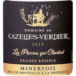 Minervois Cazelles Verdier Black Reserve vin Rouge 2015