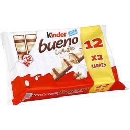Bueno - Barres chocolatées White lait et noisettes
