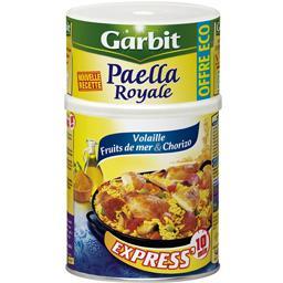 Garbit Paëlla royale, volaille fruits de mer & chorizo