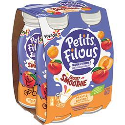 Petits Filous - Yaourt Smoothie pêche & abricot