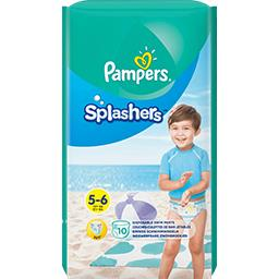 Pampers Splashers - taille 5-6-14+ kg - couches-culottes de ...