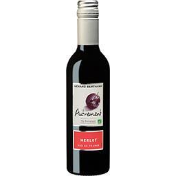 Vin du pays d'Oc Merlot BIO Autrement, vin rouge