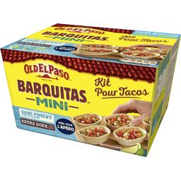 Barquitas Mini - Kit pour Tacos sans piment extra do...