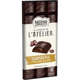 Les Recettes de L'Atelier - Chocolat noir & café