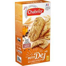 Biscuits Petit Déj miel & pépites de chocolat