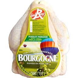 Poulet fermier de Bourgogne noir PAC nu