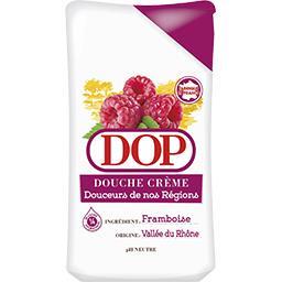 Douche crème framboise