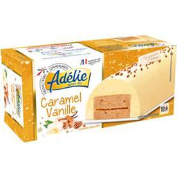 Glace caramel vanille