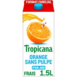 Pure Premium - Jus d'orange sans pulpe 100% pur frui...