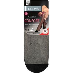 Mi-bas confort 15D, noir, taille unique