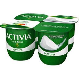 Activia - Lait fermenté au bifidus nature
