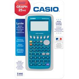 Casio Calculatrice Graph25 +E mode exam