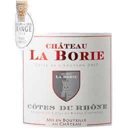 Côtes du Rhône Cuvée de l'Ecusson, vin rouge
