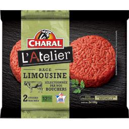 Biftecks haché pur bœuf Grand Cru 12% MG