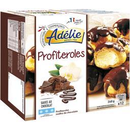 Profiteroles sauce au cacao