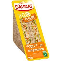 Le Club - Sandwich Classique poulet rôti mayonnaise