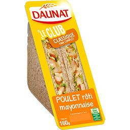 Daunat Sandwich Plaisir Vrai poulet rôti mayonnaise