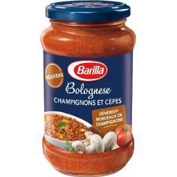 Sauce Bolognese champignons et cèpes