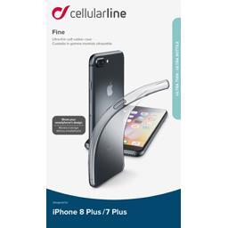 Coque silicone souple translucide pour Iphone 7 plus/8 plus