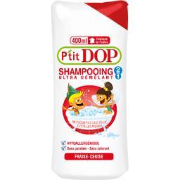 Shampooing 2 en 1 ultra démêlant fraise cerise