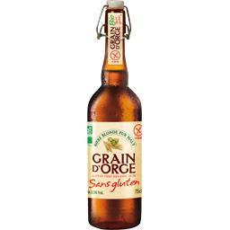Bière blonde sans gluten BIO