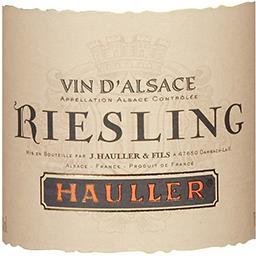 Alsace Riesling vin Blanc sec 2016