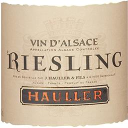 Alsace Riesling, vin blanc