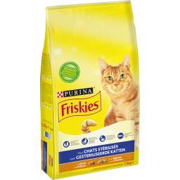 Croquettes à la dinde et légumes pour chats stérilis...