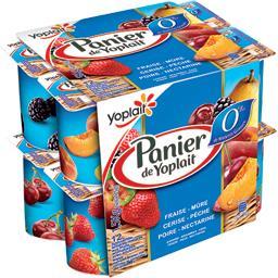 Yoplait Panier de Yoplait Panier de Yoplait - Yaourt 0% MG aux bons fruits