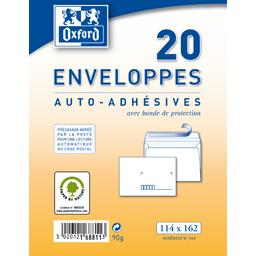 Oxford Enveloppe 114x162 auto adhesive precasee