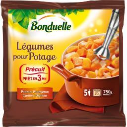 Légumes pour Potage potiron potimarron carottes oignons