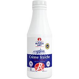 Crème fraîche fluide d'Alsace Label Rouge