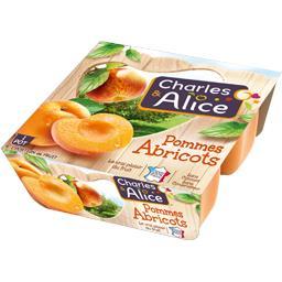Dessert Fruitier Pommes Abricots