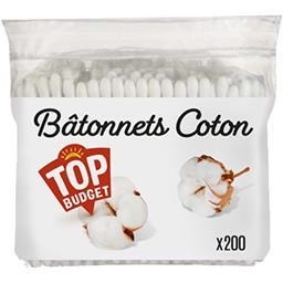 Bâtonnets coton