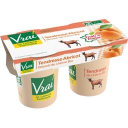 Yaourt Tendresse Abricot brassé de chèvre BIO