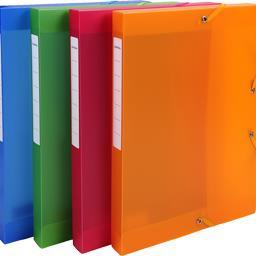 Boite classement élastique dos 25mm 240x320 coloris ...