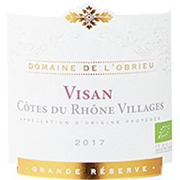 Côtes du Rhône Villages Visan Domaine de l'Obrieu BI...