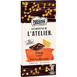 Les Recettes de l'Atelier - Chocolat noir orange con...