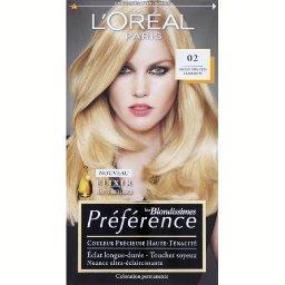 Préférence - Coloration blond très très clair doré 0...