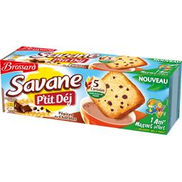 Savane - Gâteau P'tit Déj pépites de chocolat