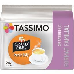 Capsules de café moulu Petit Déj'