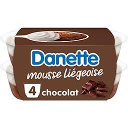 Danette - Mousse liégeoise chocolat