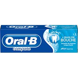 Oral B Oral B Dentifrice + bain de bouche Fraîcheur et propreté