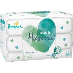 Aqua harmonie lingettes pour bébé 3paquets
