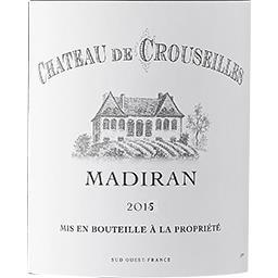 Madiran Château de Crouseilles vin Rouge 2014
