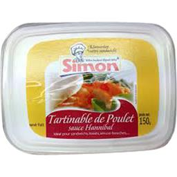 Tartinable de poulet sauce Hannibal